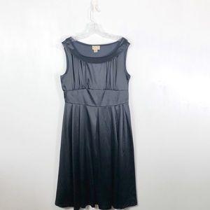 Lindy Bop Navy Retro 1950's Style Sleeveless Dress